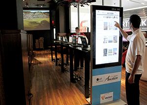 Vernon Technology - Smart Touch Screen Digital Kiosk