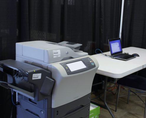 Vernon Technology - Rental - Vernon Printer and Laptop