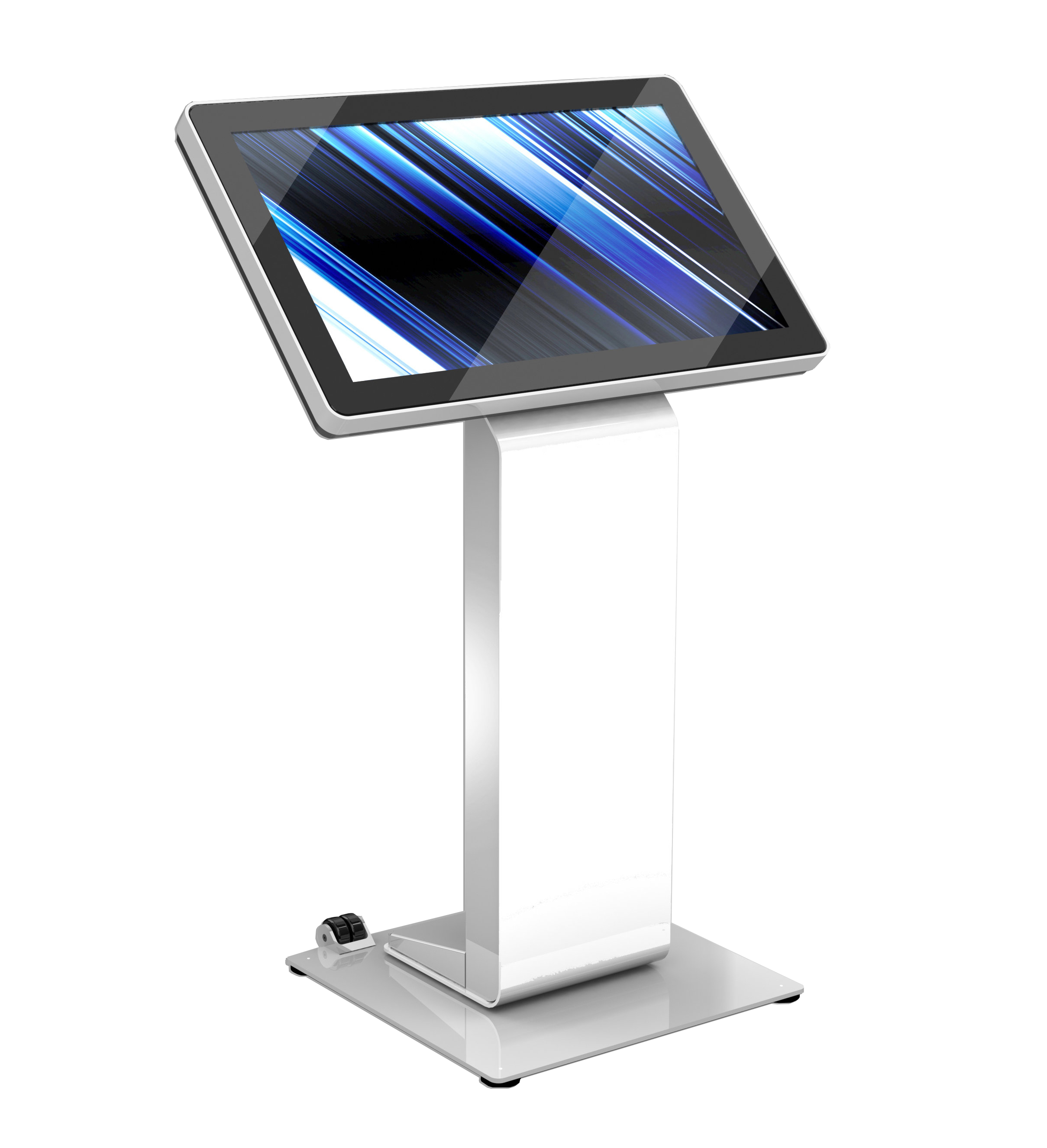 IdeaLab B32 Battery Powered Interactive Kiosk
